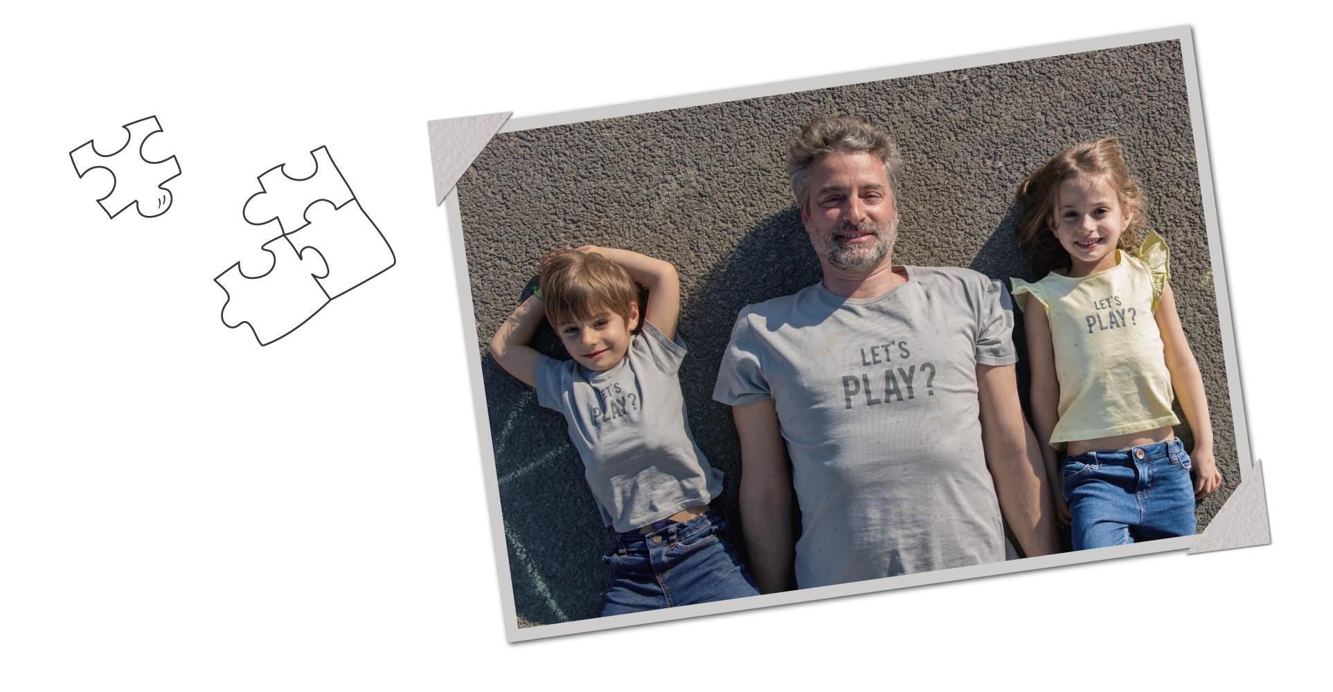 Edição especial - T-shirt Dia do Pai 2018 - familia - Let's Play