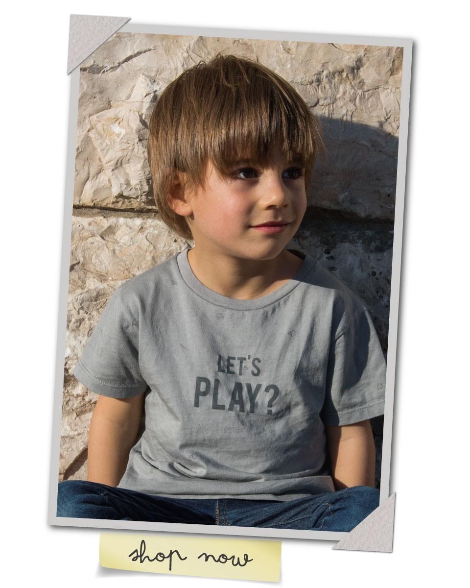 Edição especial - T-shirt Dia do Pai 2018 - menino - Let's Play