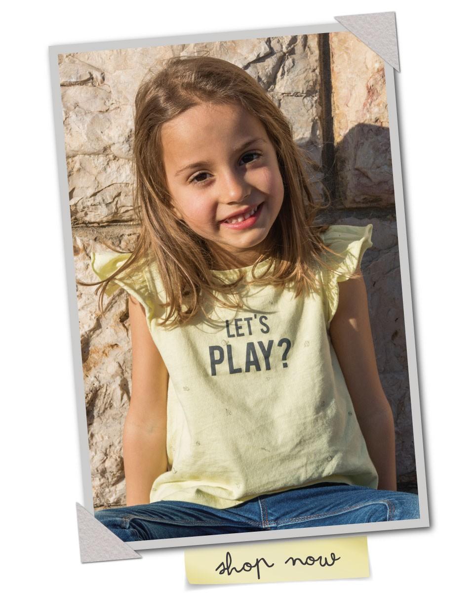 Edição especial - T-shirt Dia do Pai 2018 - menina - Let's Play