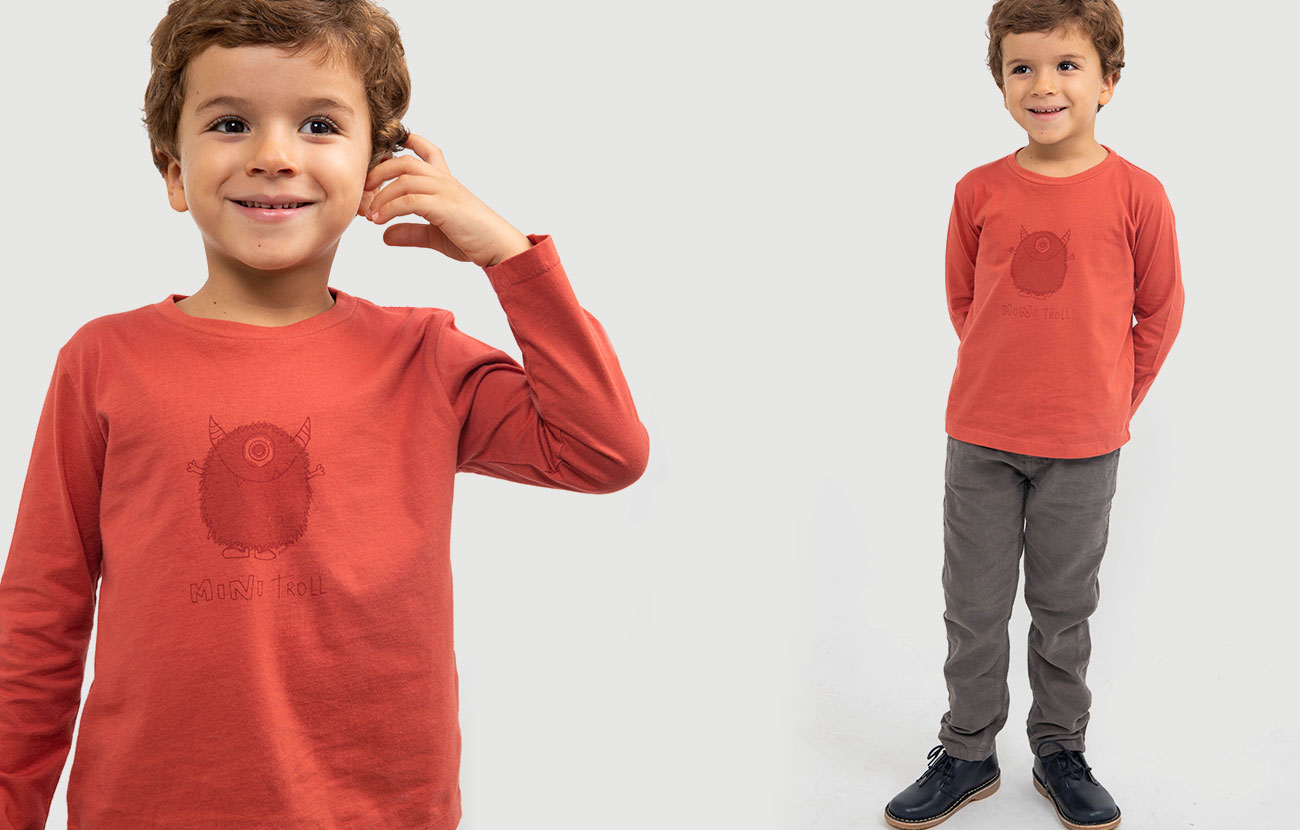 Knot kids FW18 | T-shirt mini troll