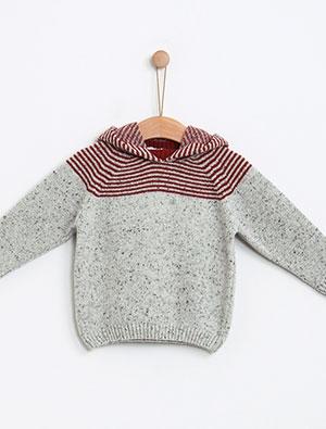 Knot kids FW18 | Camisola tweed stripes