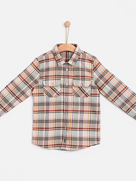 Knot kids FW18 Vicky checks shirt|