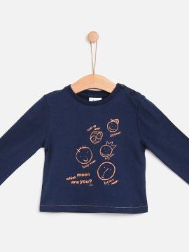 Knot kids FW18 | T-shirt moon face<