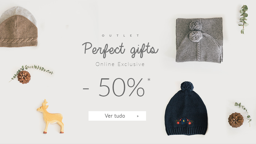 It's Christmas time | Pefrect gifts outlet | -50% everything | online exclusive