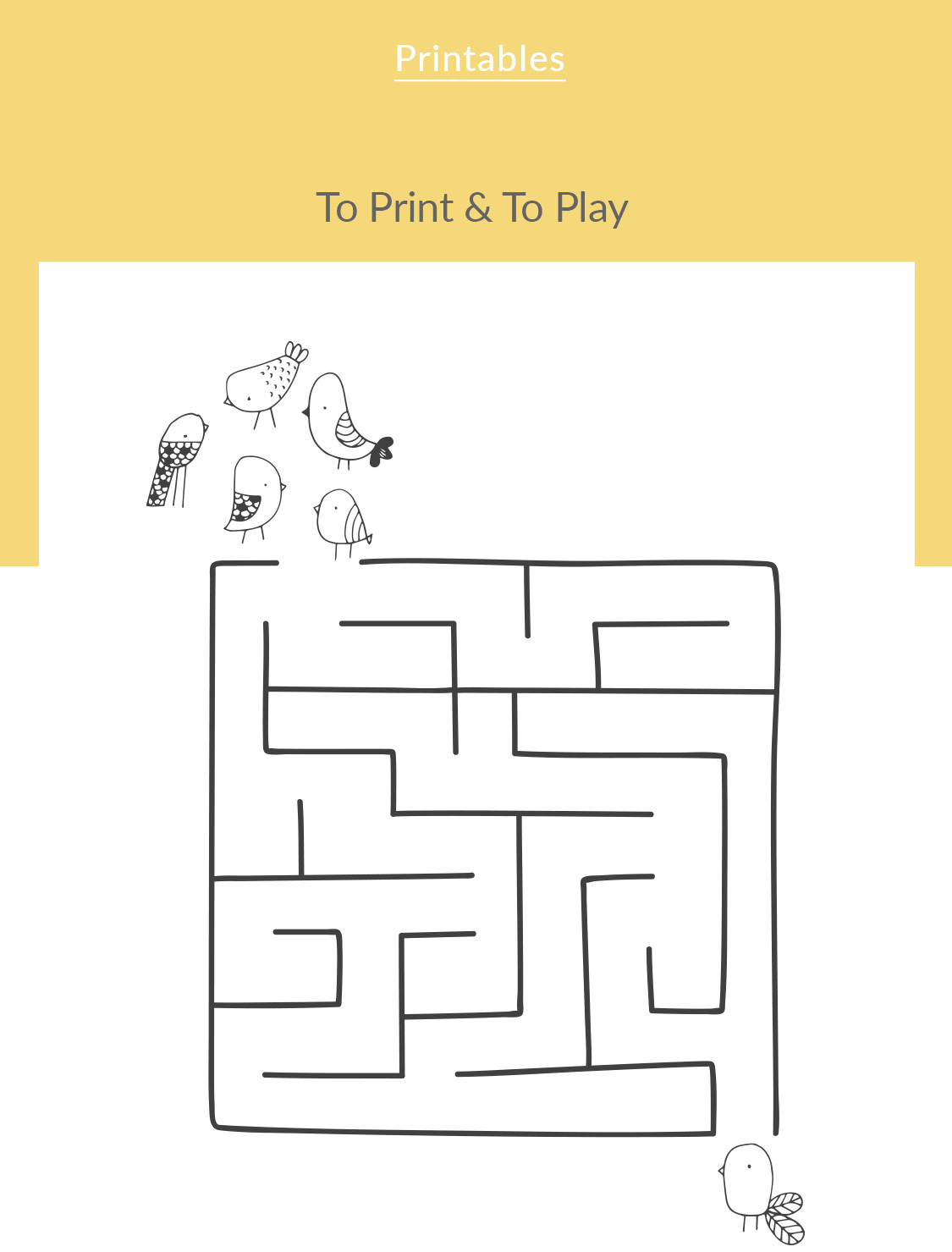 Knot Kids | Playground | Printables