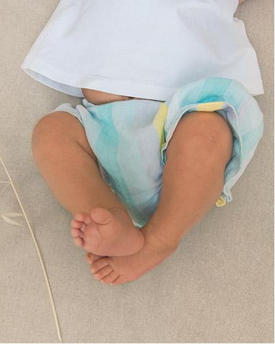 pés de bebé