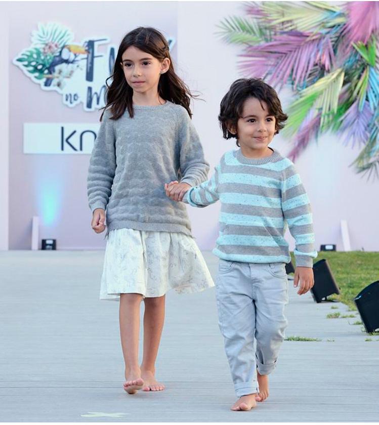 Knot Kids Desfile SS19