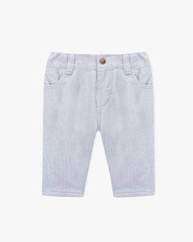 calças cinzentas