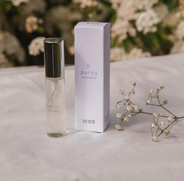 perfume com flor