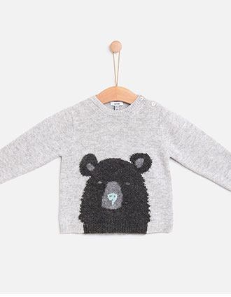 Knotkids FW18 | Camisa Mr. Bear