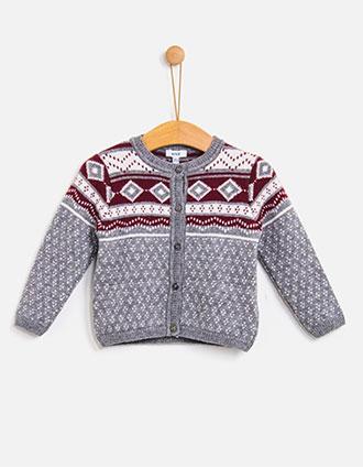Knotkids FW18 | Casaco tricot Jul
