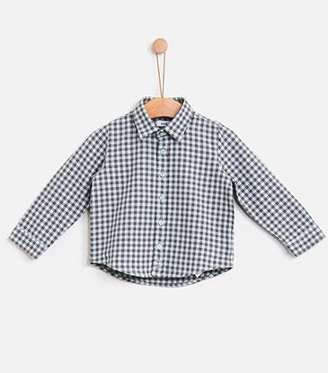 Knotkids FW18 | Camisa Soft checks