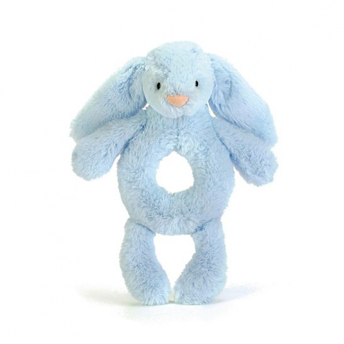 Peluche jellycat coelho azul roca