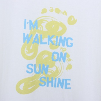 T-shirt walking on sunshine